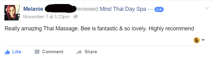 mind thai review melanie